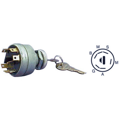 IGNITION SWITCH 1311-15  81-114