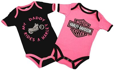 GIRL -MY DADDY RIDERS A HARLEY  2 KPL