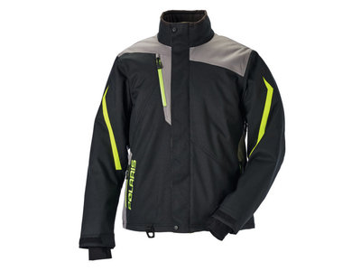 RIPPER JACKET  BLACK LIME
