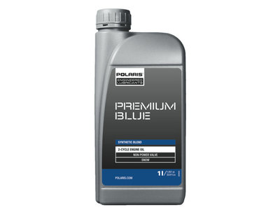 Polaris Premium Blue / Synthetic Blend 2T-öljy  2877277 1 Litra