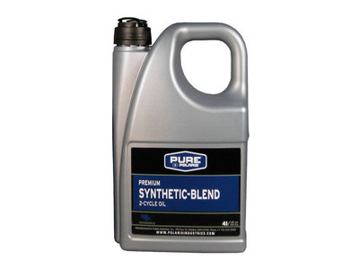 Polaris Premium Blue / Synthetic Blend 2T -öljy 4 Liters 2877278