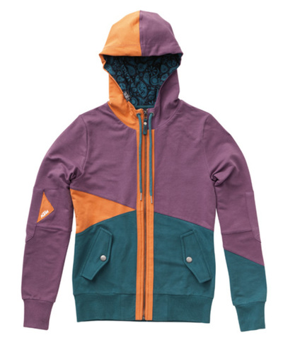 GIRLS TRIANGLE SWEATJACKET