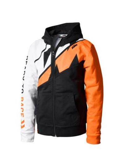 KIDS RADICAL SLICED ZIP HOODIE
