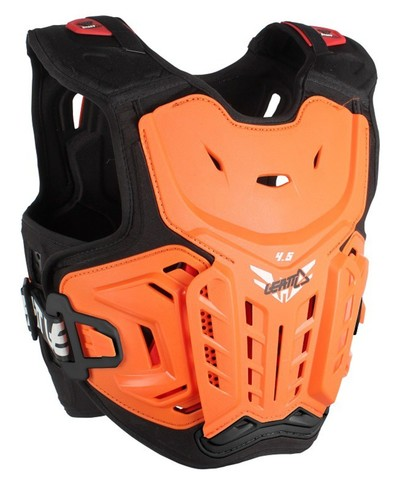 Chest protector LEATT 4.5 Orange/White #Junior