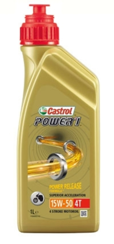 Castrol Power 1 4T 15W-50 (GPS) 1 L