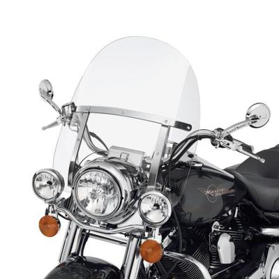 Road King H-D Detachables Windshield - 18 in. Clear