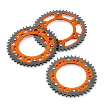 REAR SPROCKET ORANGE 38-T