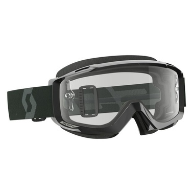 Scott Goggle Split OTG black/white clear works
