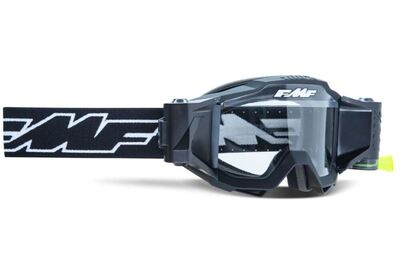 FMF POWERBOMB YOUTH Film System Goggle Rocket Musta - Kirkas Linssi
