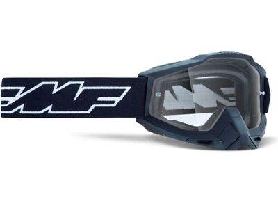FMF POWERBOMB YOUTH Goggle Rocket Musta - Kirkas Linssi