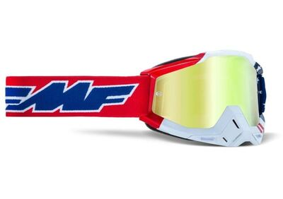 FMF POWERBOMB Goggle US of A - True Gold Linssi