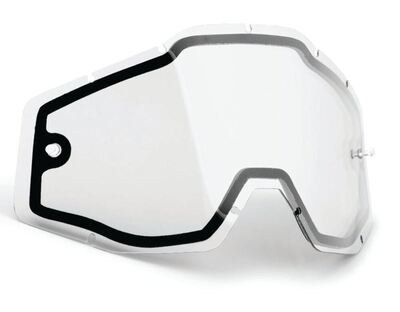 FMF POWERBOMB/CORE Replacement Linssi Dual Pane - Kirkas