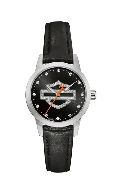 Harley-Davidson Watch - Ladies-Glitter Collection
