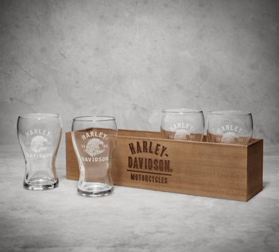 BEERFLIGHT-BL,GLASSES,WOOD,BOX