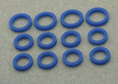 BLUE SILICONE PUSHROD SEAL KIT