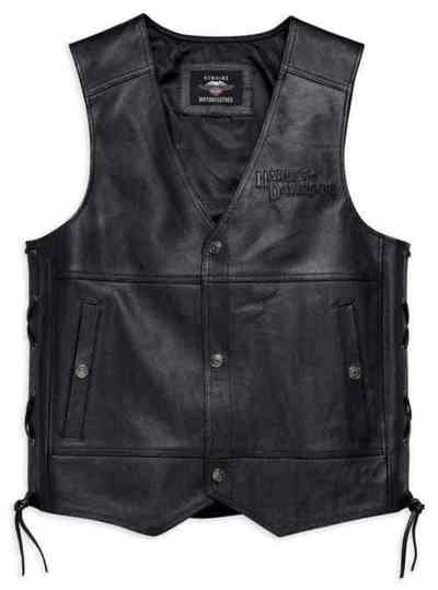 VEST-GMIC,TRADITION II,LEATHER
