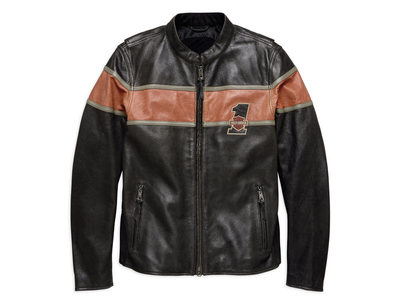 VICTORY LANE CE-CERTIFIED LEATHER JACKET