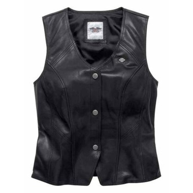 VEST-LEATHER,ESSENTIAL