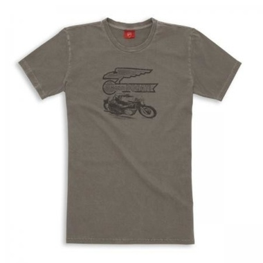 T-SHIRT GRAPHIC MOTO DUCATI
