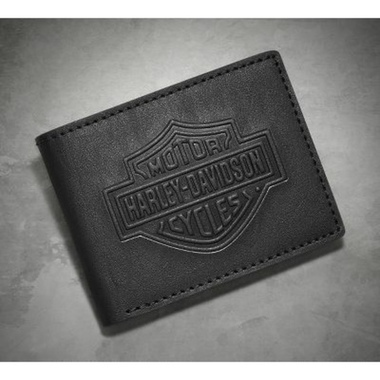 WALLET-LOGO,TRIFOLD,BLACK
