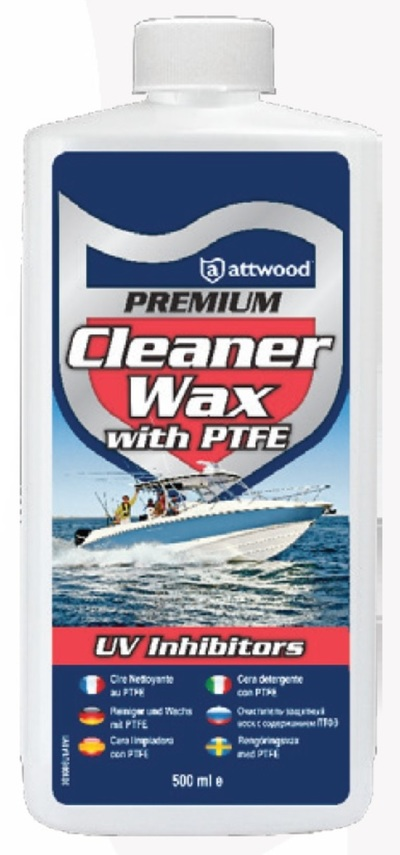 ATTWOOD Premium Heavy Duty Cleaner Wax with PTFE 500ml