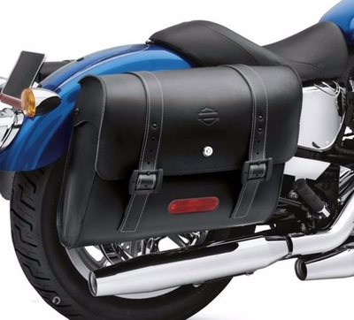 Detachables Locking Leather Saddlebags