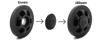 END CAP WHEEL FOR BRP