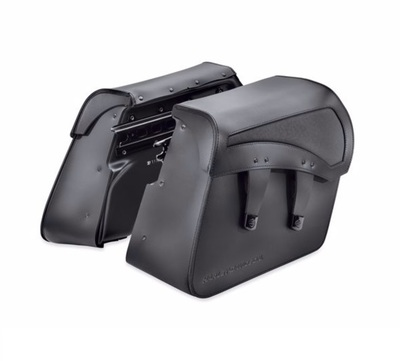 Detachables Leather Saddlebags - Pro Street Breakout