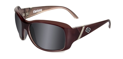 H-D CHELSEA SMOKE GREY LIQUID PLUM FRAME