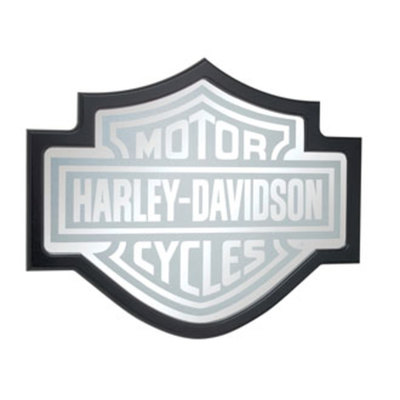 H-D BAR & SHIELD MIRROR