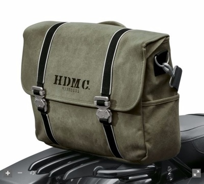 HDMC Messenger Bag - Army Green