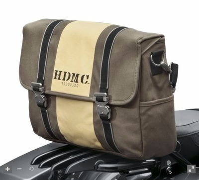 HDMC Messenger Bag - Brown/Tan