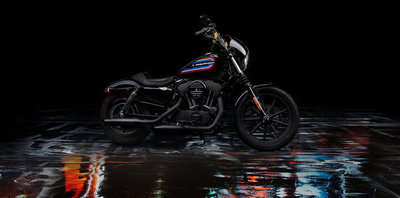 Harley-Davidson Iron  XL 1200 N BLACK