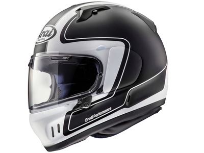ARAI RENEGADE-V OUTLINE BLACK