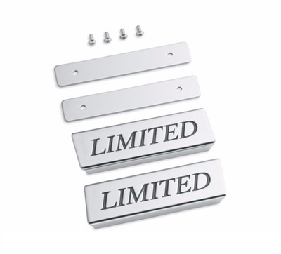 Saddlebag Lid Rail Limited Medallions