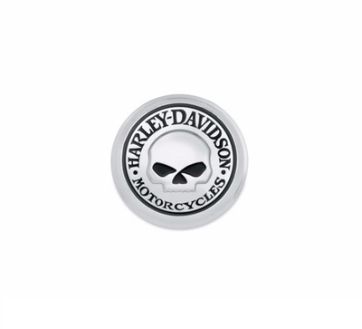 Willie G. Skull Fuel Cap Medallion