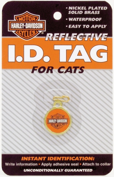 REFLECTIVE CAT I.D. TAG