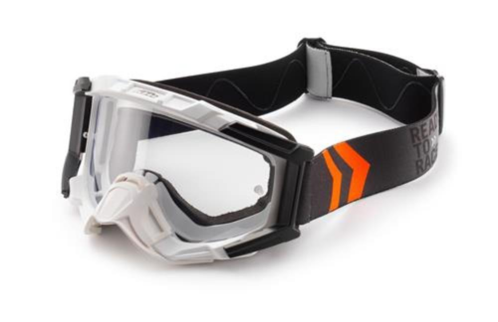 RACING GOGGLES WHITE