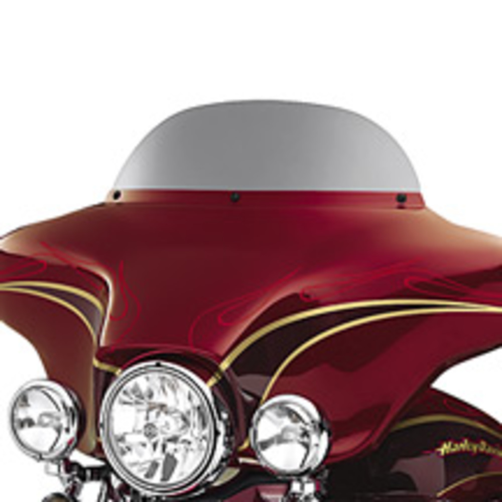 "Windshield,  7"" Dark Smoked Wind Deflector"