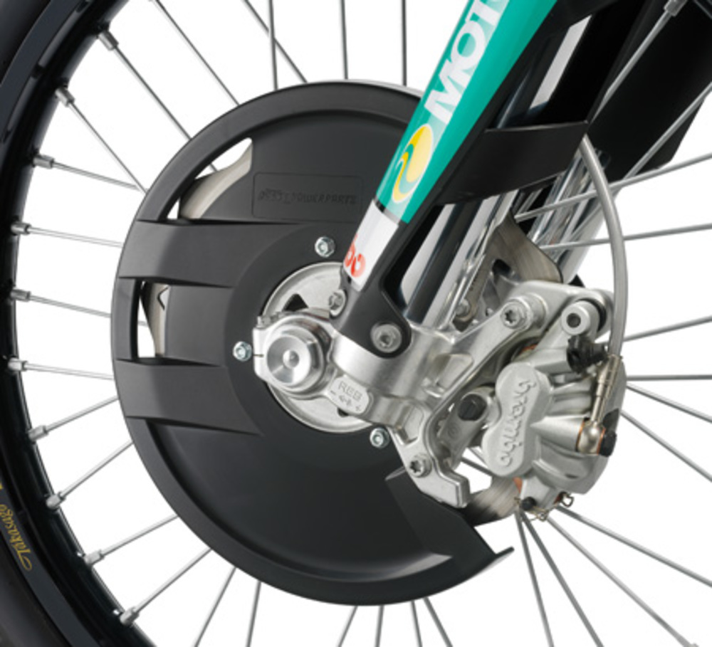 BRAKE DISC GUARD CPL.